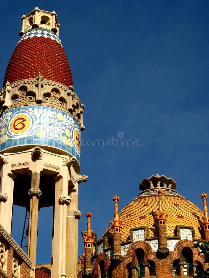 Download Barcelona,Hospital Sant Pau 19 Stock Image - Image: 5104499