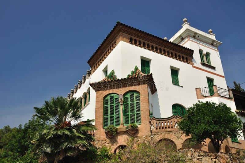 Barcelona House. stock image