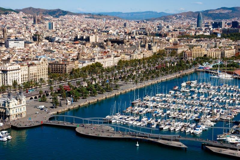 Barcelona-Kanal lizenzfreies stockfoto