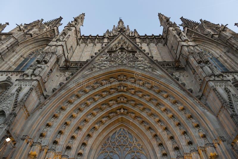 Barcelona katedra obrazy stock