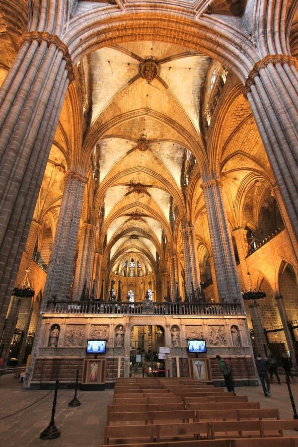 Download Barcelona katedra obraz stock editorial. Obraz złożonej z religia - 57656449