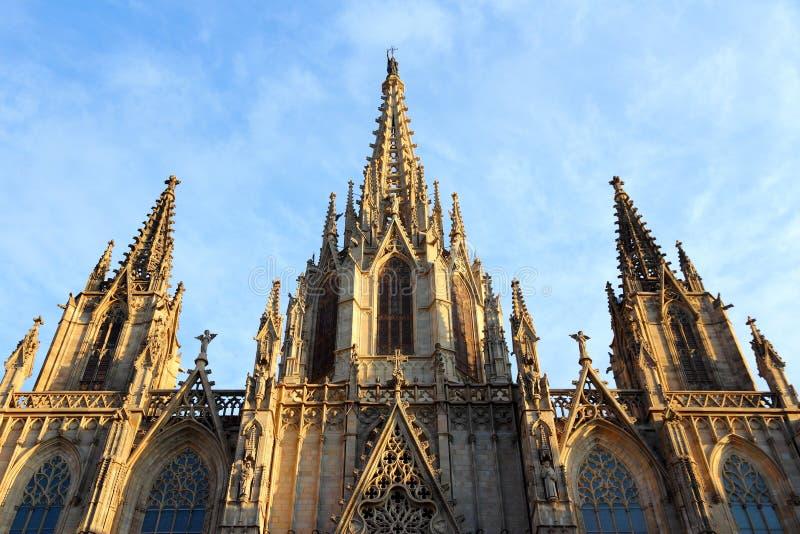 Barcelona-Kathedrale lizenzfreies stockfoto