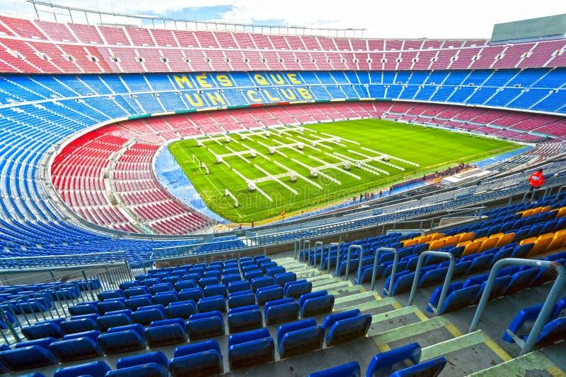 barcelona lägernou spain royaltyfri bild