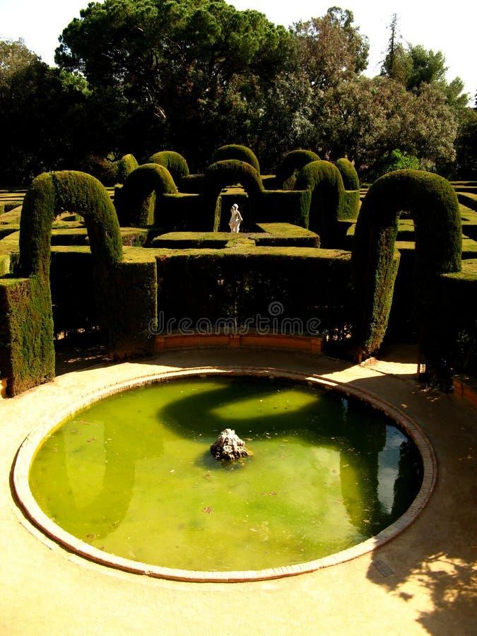 Barcelona,Laberint d'Horta 06 royalty free stock photos