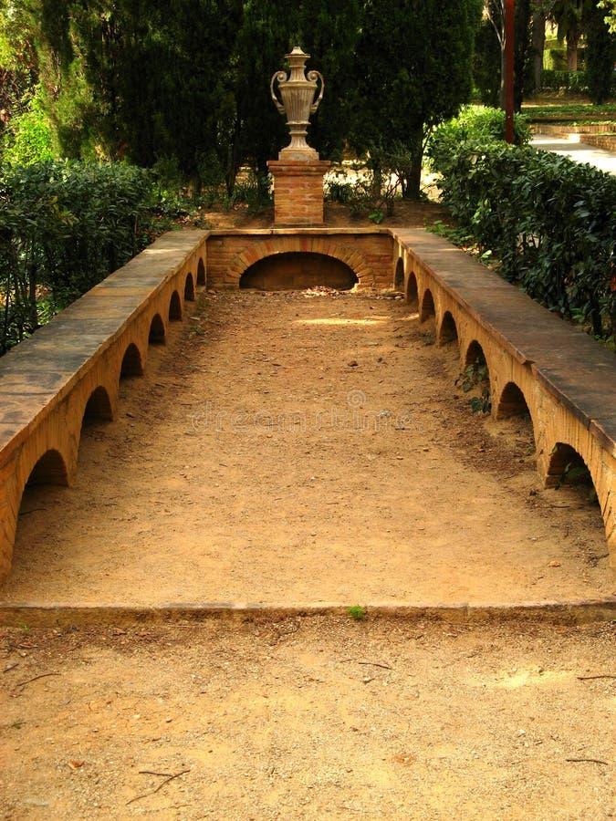 Barcelona,Laberint d'Horta 17 royalty free stock photo