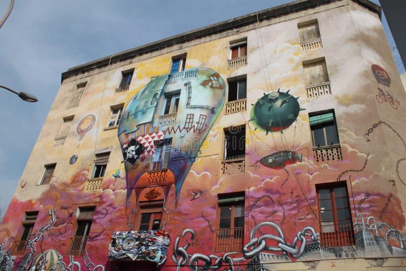 Barcelona - los angeles Carboneria fotografia stock