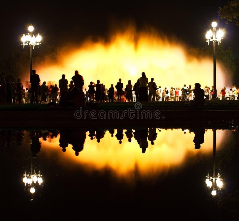 Free Barcelona Magic Fountain Of Montjuic Stock Photo - 17200050