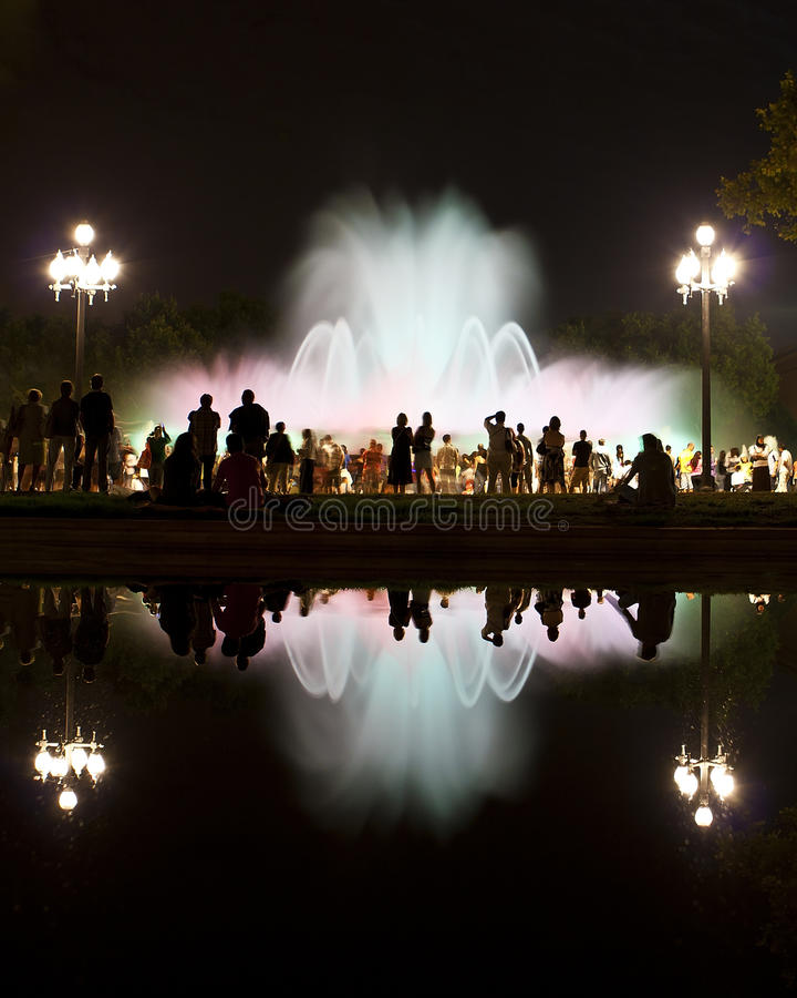Free Barcelona Magic Fountain Of Montjuic Stock Image - 17399941