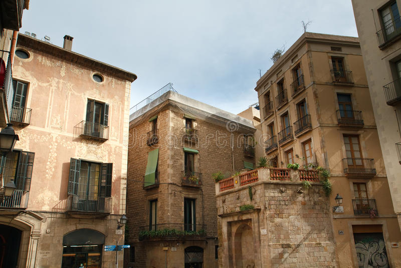Download Barcelona Miasta Stara Część Obraz Stock - Obraz złożonej z barcelona, miastowy: 13330409
