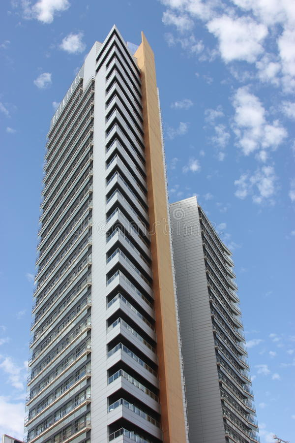 Barcelona modern building royalty free stock images