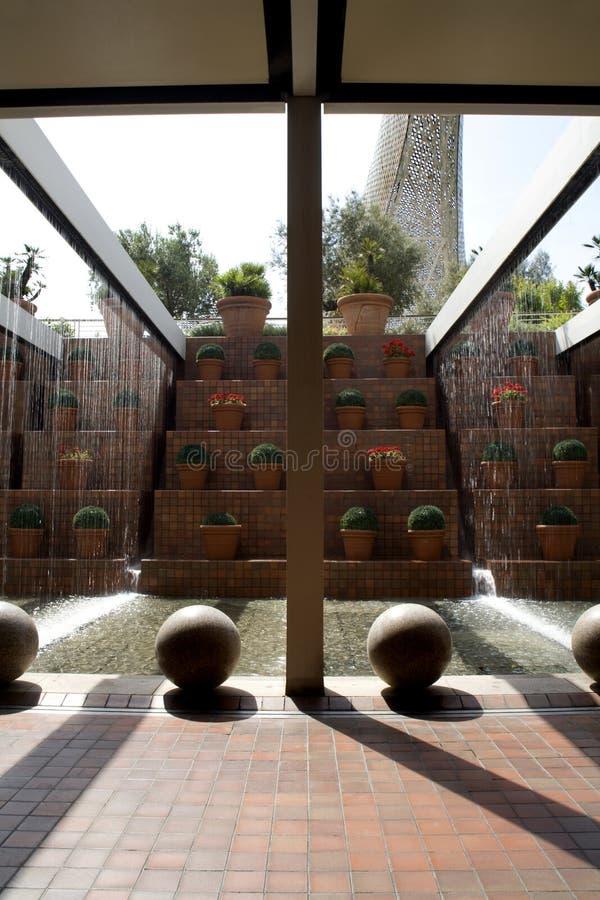 Download Barcelona - Modern Fountain Stock Image - Image: 11633183