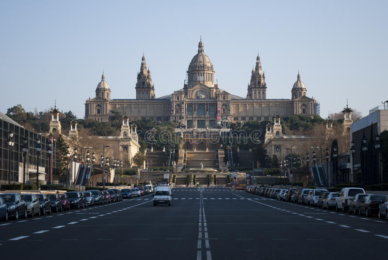 Download Barcelona museum editorial stock image. Image of olympic - 39371569