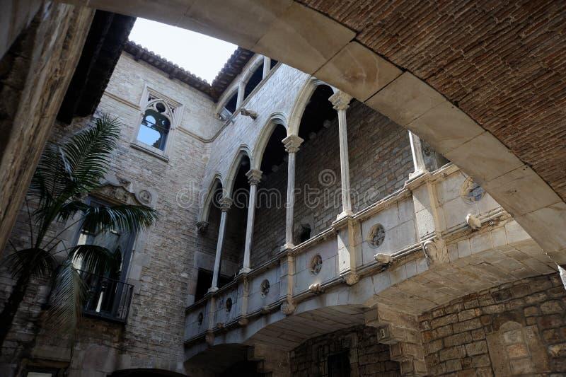 barcelona muzeum Picasso zdjęcia stock