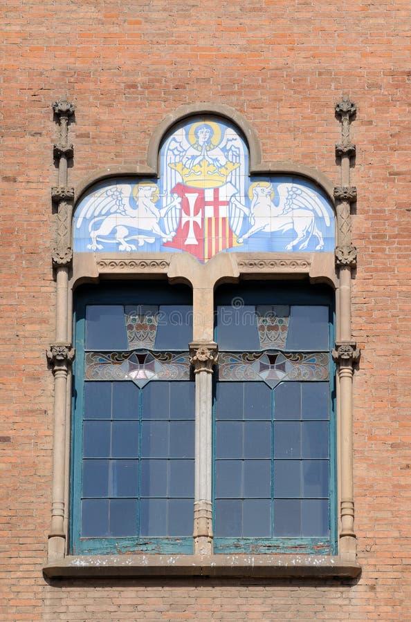 barcelona okno Spain fotografia royalty free