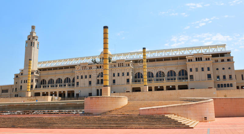 Download Barcelona Olympic Stadium editorial stock image. Image of architecture - 25961934