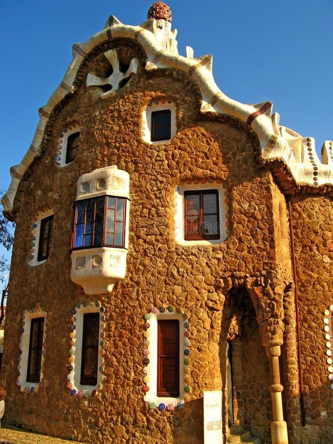 Barcelona, Park Guell 06 stock photo