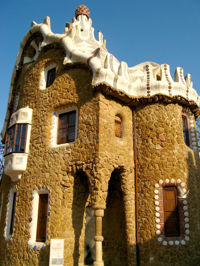 Barcelona, Park Guell 08 royalty free stock photo