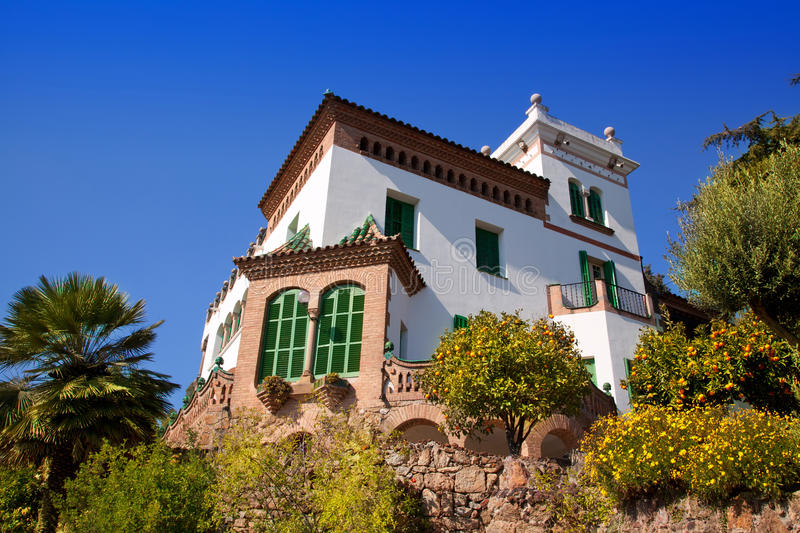 Download Barcelona Park Third Resident Of Family Guell Stock Photos - Image: 25057073