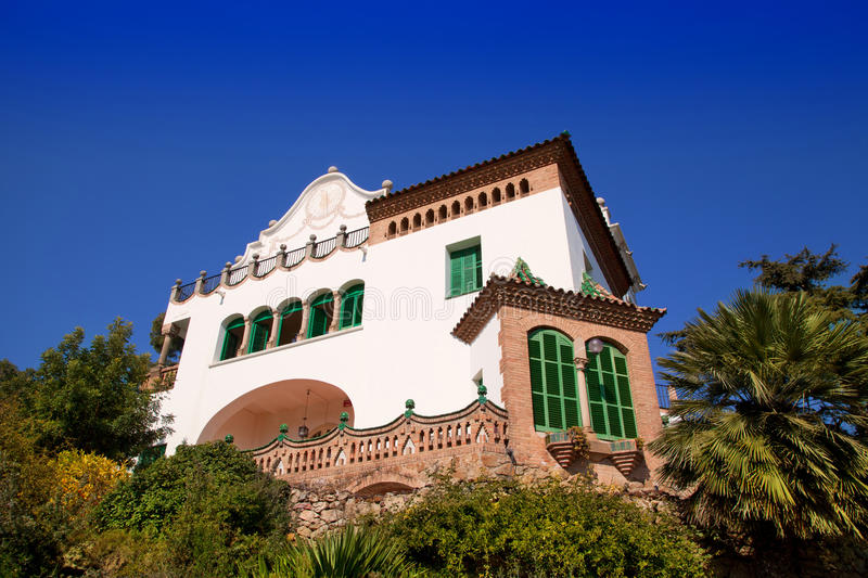 Download Barcelona Park Third Resident Of Family Guell Stock Photo - Image: 25057088