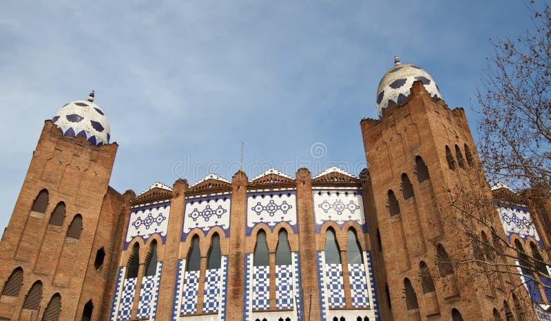 Barcelona - Plaza de Toros Monumental imagem de stock