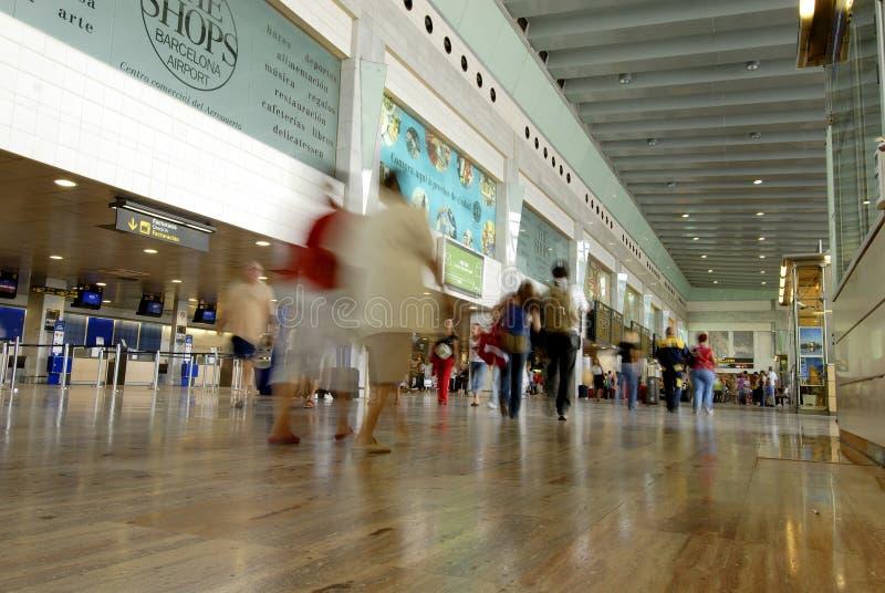 Barcelona portów lotniczych zdjęcia royalty free