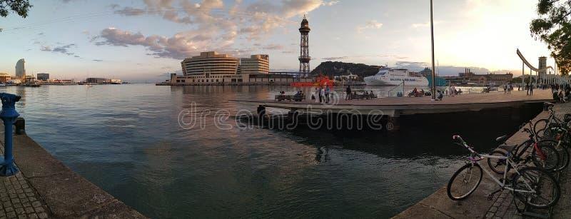 Barcelona port obraz stock