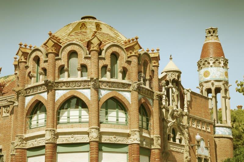 Barcelona retro obrazy stock