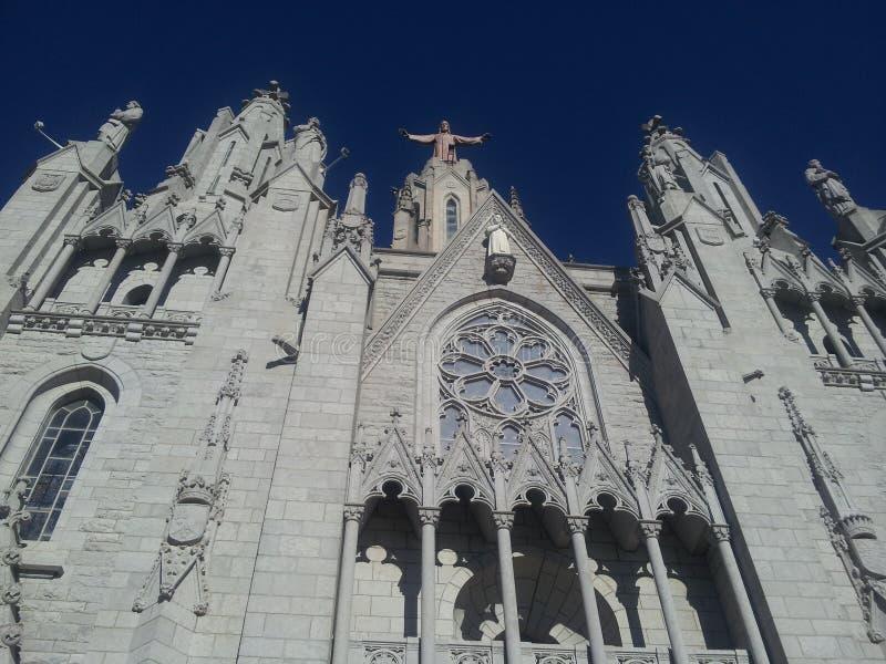 Barcelona-sagrado corazon lizenzfreie stockfotos