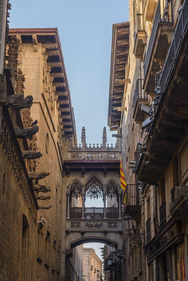 barcelona spain royaltyfria bilder