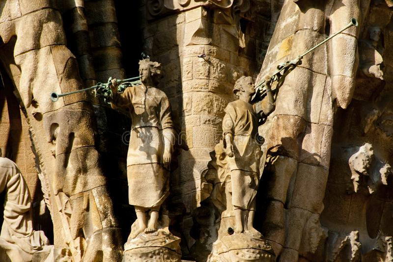 BARCELONA, SPANIEN - 24. Mai 2016: lizenzfreie stockfotografie