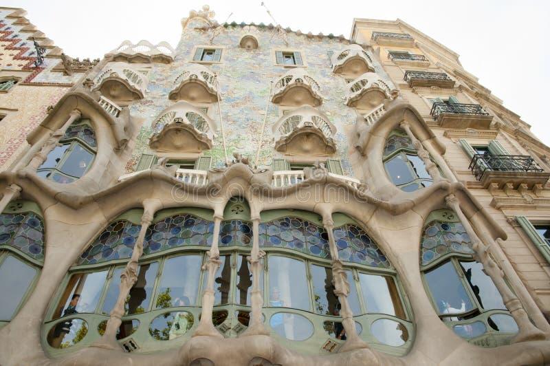 BARCELONA SPANIEN - Maj 24, 2016: royaltyfria bilder