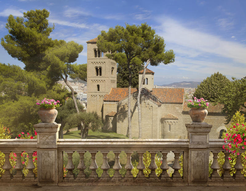 Barcelona, Spanish Village royalty free stock photo