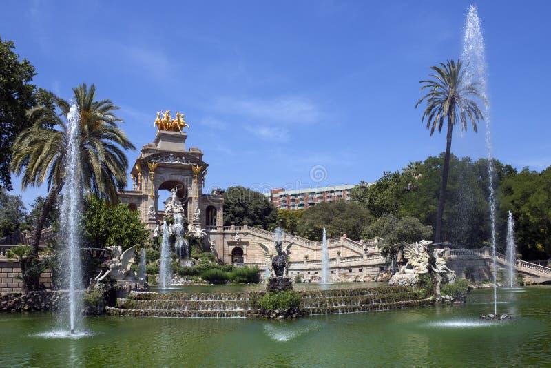 Barcelona - Spanje stock afbeeldingen
