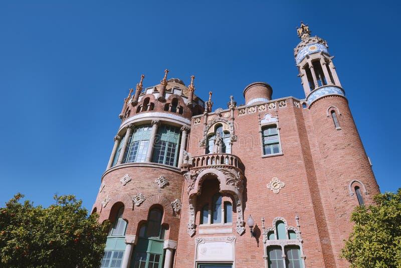 Download Barcelona, Spanje - April 6, 2017: Het Ziekenhuis Van Santpau Redactionele Stock Afbeelding - Afbeelding bestaande uit architect, building: 114225964