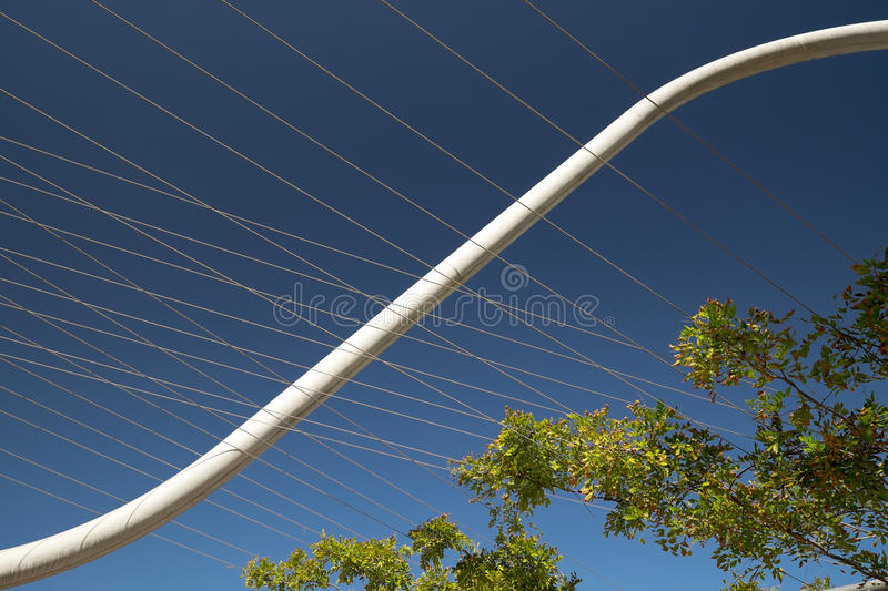 Barcelona Structure royalty free stock image