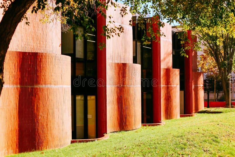 Barcelona szkoła architektura fotografia stock