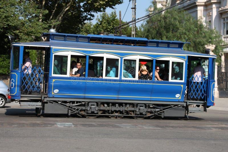 Barcelona tram royalty free stock image