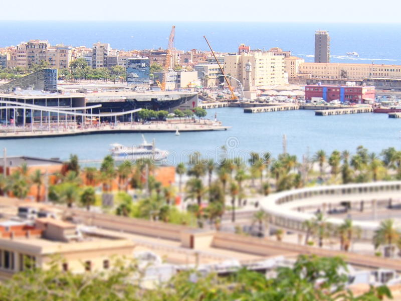 Barcelone images libres de droits