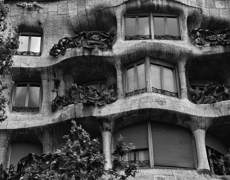 Barcelone, Espagne, ressort : architecture urbaine au centre de la ville images libres de droits