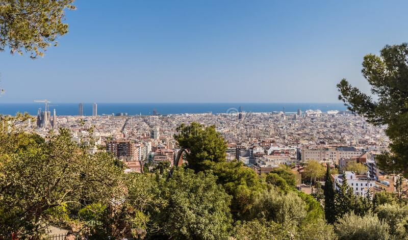 Barcelone (Espagne).  photographie stock