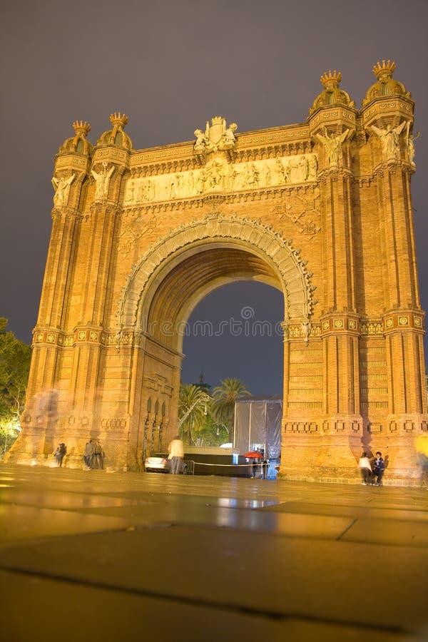Barcelone historique photos libres de droits