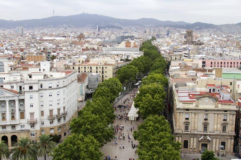 Barcelone la ramblas espagne photo stock image du for B b barcellona vicino ramblas
