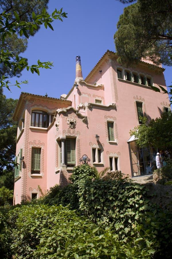 Barcelone - musée de Gaudi photos libres de droits
