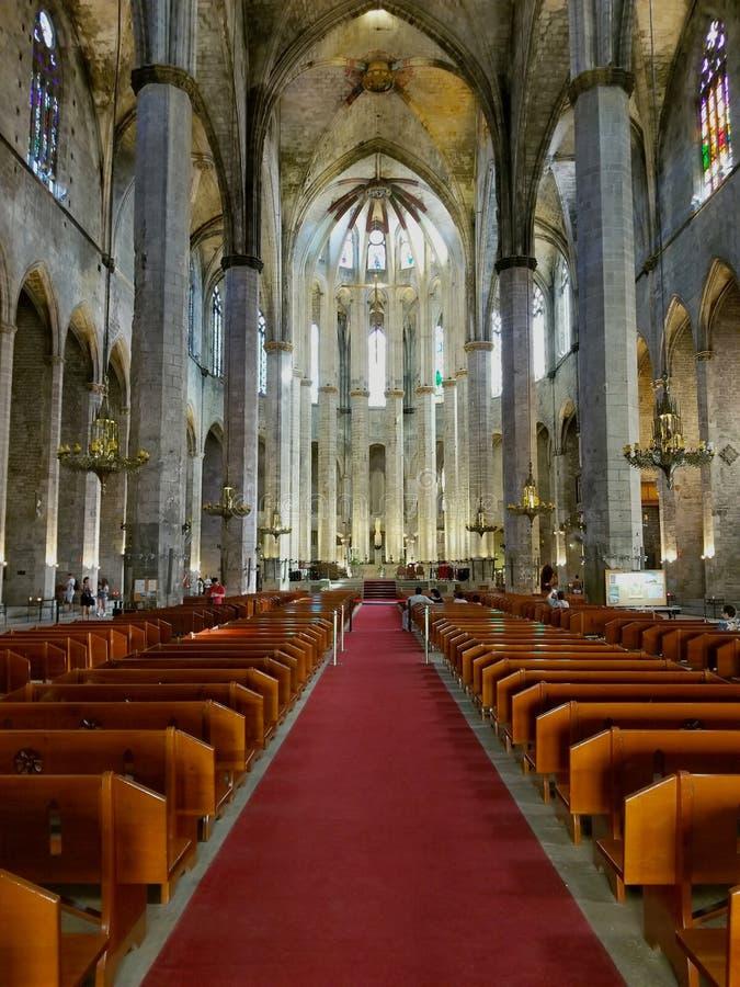 Barcelone, saint Eulalia, Catalogne, Espagne de cathédrale photographie stock