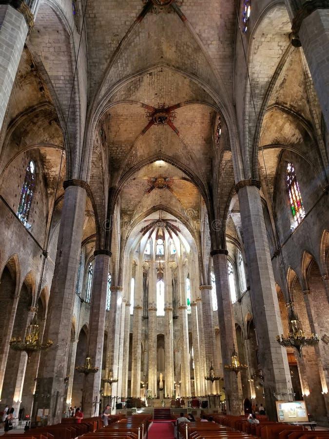 Barcelone, saint Eulalia, Catalogne, Espagne de cathédrale photo stock
