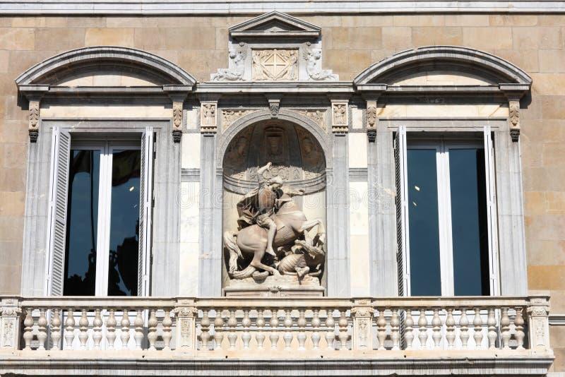 Barcelone - saint George images libres de droits