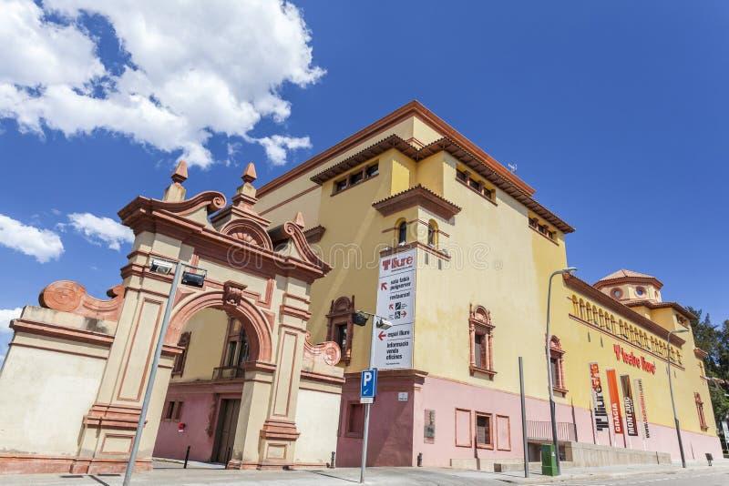 Barcelone, théâtre, Mercat de les Flors photos libres de droits