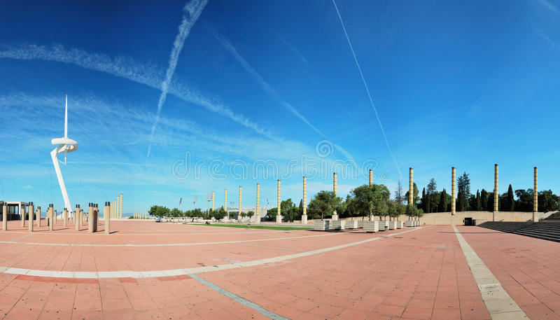 Barcelone, ville olympique photo stock