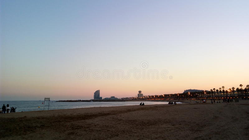 BARCELONETA obraz royalty free