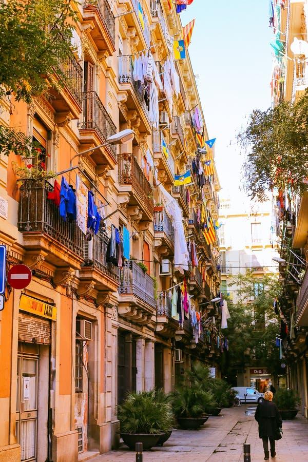 Barceloneta, Barcellona fotografia stock libera da diritti